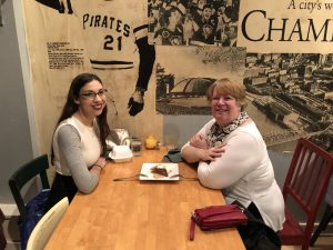 An Evening Out in Pittsburgh: SWSG Mentoring Pair Attends City Theatre